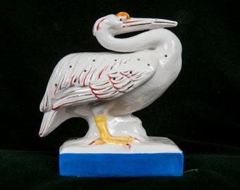 Sassy Pelican Hatpin Holder Made in Japan