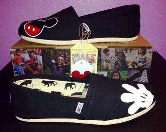 Disney Toms - Mickey/Glove