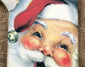 Jolly Santa Claus Christmas Tags #548