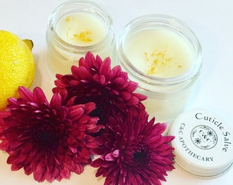 Lemon Cuticle Salve for Dry, Chapped Cuticles
