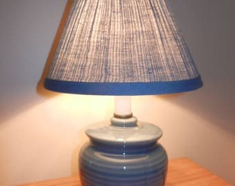 Lamp,Lamps,Night Light,Clip-on Shade, Kids Room Lamp, Blue Lamp