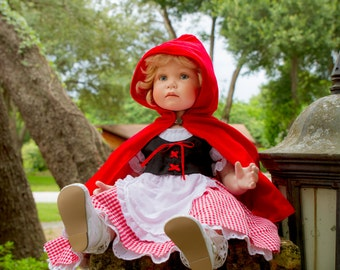 Little Red Riding Hood Costume in any Baby or Toddler Size