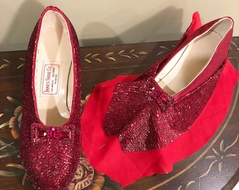 Replica Bugle Bead Shoes - test version of ruby slippers