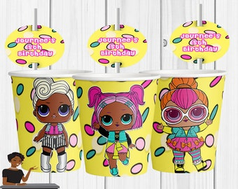 LOL Surprise Dolls, Cookies Ahoy, Lol Party, Lol Dolls Favor, LoL Birthday Party, LOL, Baby, Kids, Toddlers