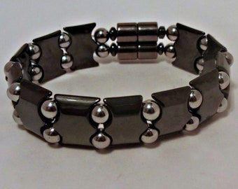 Double Bat Wing Magnetic Therapy Bracelet