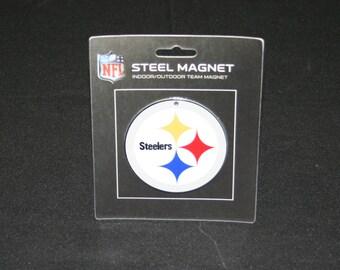 NFL Pittsburgh Steelers Steel Magnet