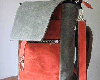 Waxed Canvas Bag, Canvas Crossbody Bag, Canvas Purse, Waxed Canvas Crossbody Bag, Waxed Canvas Purse, Vegan Crossbody bag, Canvas Bag