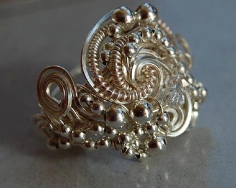 Tutorial, WIRE WORK RING.