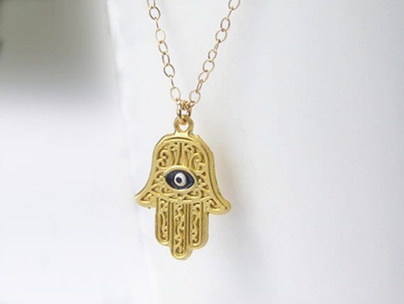 pendant hand london jamie medallion gold rose hamsa products necklace personalised lucky