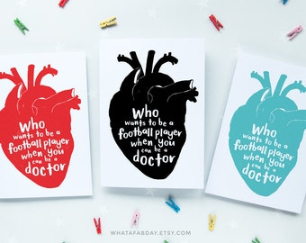 graduation card for medical student funny doctor grad card