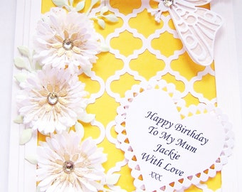 Personalised Birthday, Get Well or Mother's Day Card