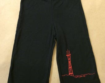 Black Sutro Pants