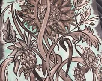 Sunflower Painting.