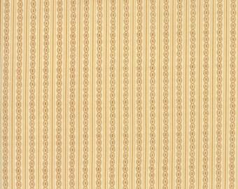 Rachel Remembered Fabric - Moda Fabric - Half Yard - Betsy Chutchian Butter Yellow Gold Reproduction Stripe Quilt Civil War Fabric 31545 12
