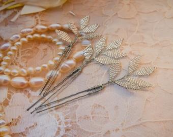 Lavender Hair pin set of 3 Bridal Hair Pins Beaded pins lavender Wedding hair pins Set hairpins Silver hairpin Hair Set bridal hair pin