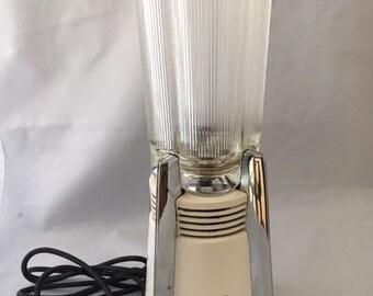 Vintage Waring Rocket Blendor Blender Milkshake Retro Art Deco with Cover