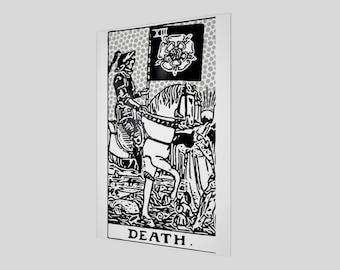 """12""""x18"""" - Modern Tarot Design - 13 Death"""