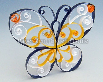 Butterfly - Quilling Patterns PDF Tutorial