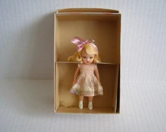 Vintage Nancy Ann Storybook Doll Little Sister Sunday School