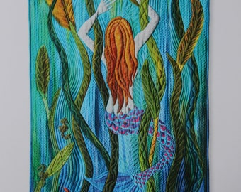 Art card - Inner Sanctum, greeting card, notecard