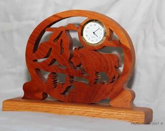 Mountain Goat Clock