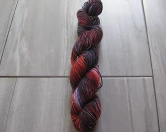 OOAK    -  50 gram skein, 75/25 sock yarn,