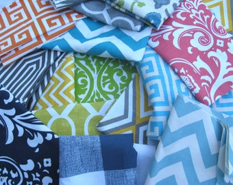 Fabric Swatch / Fabric Sample UP to 4 separate fabrics