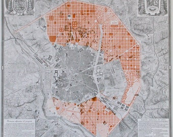 Basic cartography of the city of Madrid, Spain. Plans, historical, topographical and parcel of the 17TH to 20th centuries (COAM)