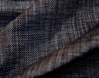 Metallic Navy Fabric