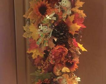 Fall Wreath, Fall Decor, Fall Wreath for Front Door, Wreaths for Front Door, Wreath Fall, Pumpkin Wreath, Thanksgiving Wreath, Autumn Wreath