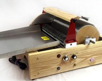 STRAUCH MOTORIZED FINEST Drum Carder electric chain drive wonder machine