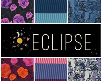 Cotton + Steel Eclipse - Fat Quarter Bundle - 12 Prints - Fabric Precut Bundle
