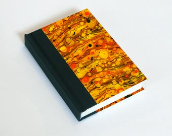 "Sketchbook 4x6"" with motifs of marbled papers - 21"