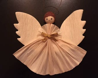 Corn Husk Angel