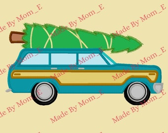 Christmas Vacation Car and Tree
