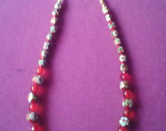 Cloisonne necklace series Lydia N 10