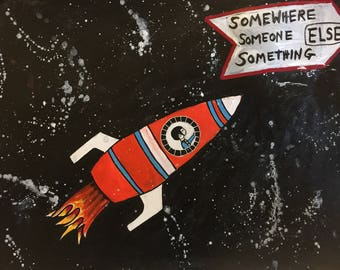 Somewhere Else - Limited Edition Giclee Print