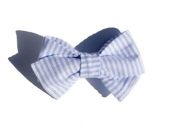 Fabric Hair Bow - Baby Headband - Hair Bows for Girls - Bow Headband - Wedding Hair Accessories - Nylon Headband - Hair Clip for Toddlers