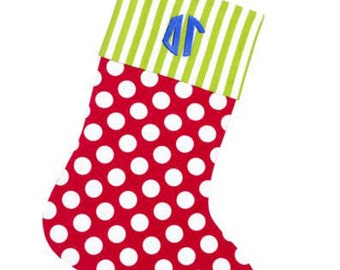 Delta Gamma Christmas Stockings