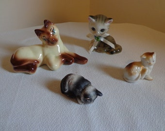 Cute Collection of Cat Collectables