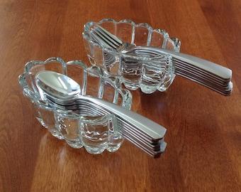 Princess House PHC2 Buffet Flatware Fork / Spoon Holder #438