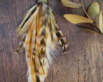 Medal feather modern amerindian