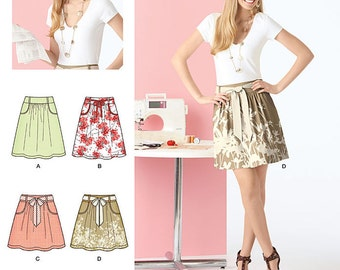 Simplicity Sewing Pattern 2226 Learn to Sew Misses' Skirt