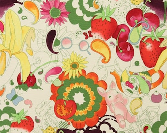 Afternoon Delight Heavy Oxford- Alexander Henry Scenes 1 Yard Fabric