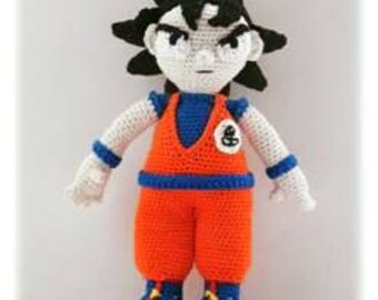 PDF tutorial of Goku crochet