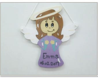 Christening Angel guardian angel for girls