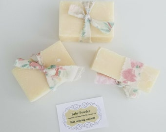 Baby Powder Scented Goats Milk Soap