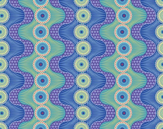 Dot Crazy by Benartex - Fun & Games Blue - Cotton Woven Fabric
