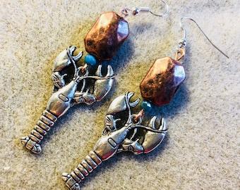 Crawfish/Lobster Earrings