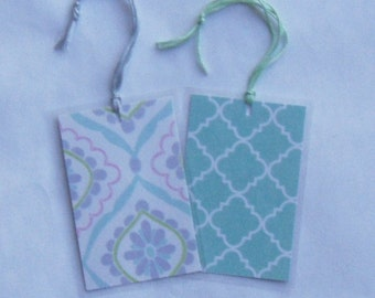 Mint Green Purple Pink Bookmarkers